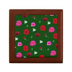 Roses box keepsake box
