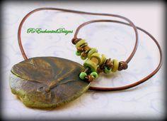 Ancient Green Wabi Sabi Dragonfly w Greek by RoEnchantedDesigns, $40.00