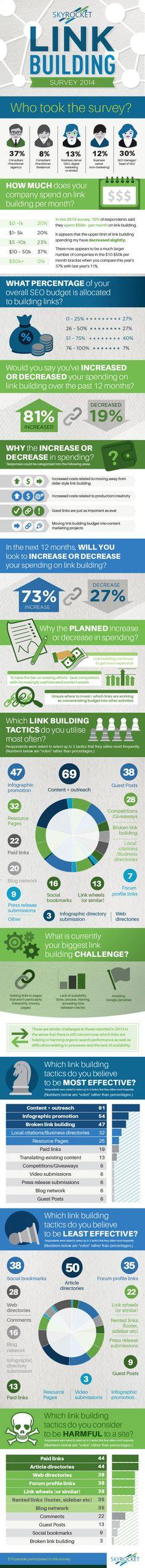 Linkbuilding survey