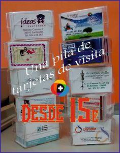 Pensaste hacer #tarjetas de visita? Desde sólo 15€ puedes presentarte como te mereces. Queremos #ImpresionArte