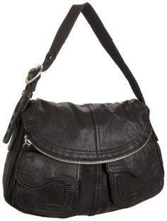 Amazon.com: Lucky Brand Stash Leather Foldover Hobo: Shoes