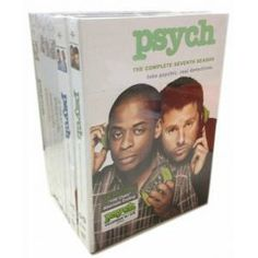 Psych Seasons 1-7 DVD Box Set Seasons:Seasons 1-7 Year of Release:2013 Number of Discs:27
