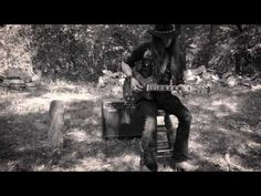 CEMETERY BLUES | by Justin Johnson - Custom Les Paul by Big D Guitars - YouTube