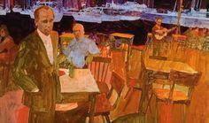 Men in a cafe