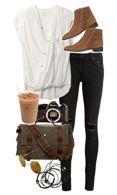 """""""Untitled #8871"""" by nikka-phillips ❤ liked on Polyvore featuring rag & bone/JEAN, Helmut Lang, Topshop, Nikon and Scosha"""