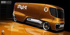 Renault Trucks Beezy on Behance