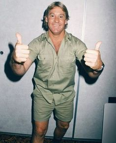 """Steve Irwin or """"The Crocodile Hunter"""" is a famous Australian TV personality, wildlife expert and conservationist. Steve Irwin became a household name through his TV show The Crocodile Hunter, in which he educated people about Australian wildlife. I Miss Him, Love Him, Irwin Family, Crocodile Hunter, Bindi Irwin, Steve Irwin, Having A Bad Day, Celebs, Celebrities"""
