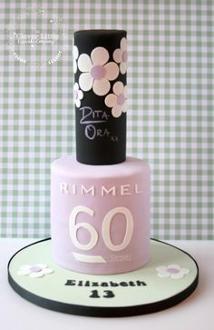 Nail Polish Cake - Cake by The Clever Little Cupcake Company