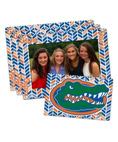 Florida Gators Magnetic Frame & Magnet Set