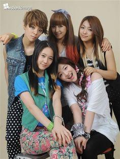 Amber Liu, Krystal Jung, Victoria Song, Sulli & Luna - f(x)