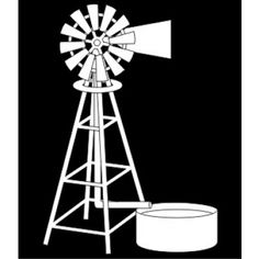 Enmarc - Chipboard - Design Elements - Windmill Farm Windmill, Windmill Decor, Stencil Wall Art, Stencils, Art Template, Templates, Free Collage, Wooden Cutouts, Train Art