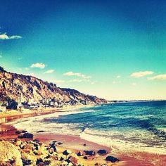 A little #Malibu sunshine. #beachlife