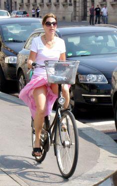 pics bike Upskirt amateur