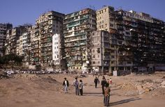 Kowloon Walled City, 1987 | Greg Girard  My mom lived around here the same year as a refugee from the Vietnam War.