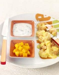Curry-crevettes au yaourt
