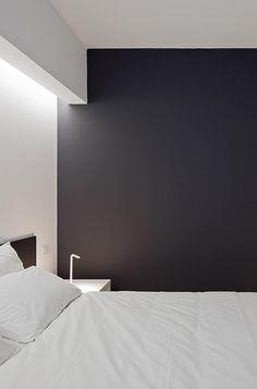 Grote fan van de indirecte verlichting boven het bed #myIKEAbedroom