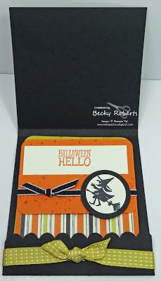 Inking Idaho: Matchbook Halloween Cards