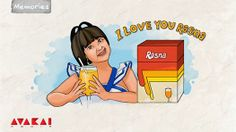 One of the most memorable ads from those days - the mere tagline 'I love you Rasna' and jingle made you wanna rush to a nearby shop .