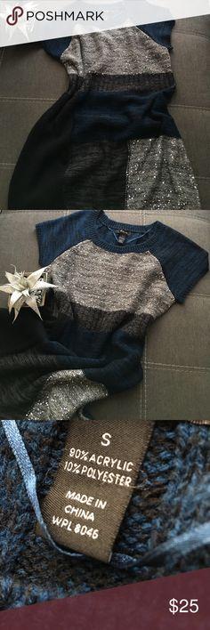 Color block Sweater dress Color block sequin sweater dress. NWOT Sweaters