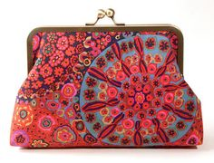 Mythical Bohemian Clutch by pennyroyalty on Etsy
