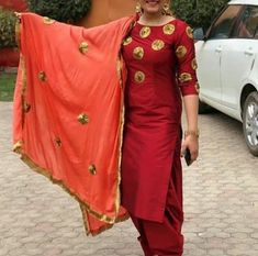 Punjabi suits 8968922443 Customise size and color Shipping worldwide✈ For booking WhatsApp or call at 8968922443 Salwar Suits Party Wear, Punjabi Salwar Suits, Designer Punjabi Suits, Indian Designer Wear, Punjabi Dress, Patiala Salwar, Indian Suits, Indian Wear, Indian Attire