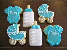 baby boy shower ideas | Baby-Boy-Baby-Shower-Cookies1.jpg #babyshowerboy