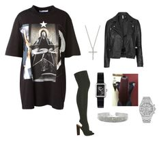 """""""Hookah lounge"""" by conceitedlo ❤ liked on Polyvore featuring Givenchy, Topshop, adidas Originals, Chanel, Bloomingdale's and Audemars Piguet"""