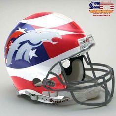 """Denver Broncos Americas """"Wanna Be"""" Team Broncos Gear, Nfl Broncos, Denver Broncos Football, College Football Teams, Raiders Football, Best Football Team, Football Uniforms, Football Memes, Broncos Helmet"""