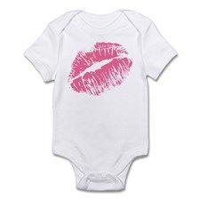 Pink Kiss Infant Bodysuit for