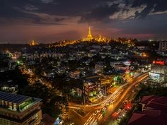 A Light in the Dark Shwedagon temple is one of the most photographed icons in all of Myanmar writes Your Shot community member Brett Rylance. To get the shot they were hoping for Rylances guide had to plead for access to the top of an office building. Our guide and I wanted an aspect not often seen: We wanted Shwedagon's sacred pagoda atop Singuttara Hill at sunset with Yangons pulsing city elements below to create juxtaposition.  This photo was submitted to Your Shot our storytelling…