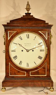 A Regency Striking Bracket Clock