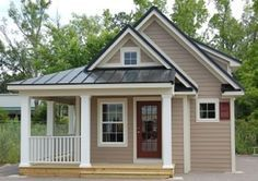 Small Modular Cottages Cottage W Log Siding Cottage W