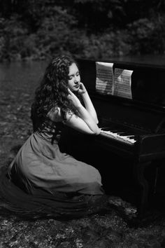 Piano Player, Music Instruments, Black And White, Black N White, Musical Instruments, Black White