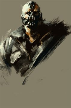 Bane is fictional character appearing in DC Comic's Batman: Vengeance of Bane. Comic Book Characters, Comic Character, Comic Books Art, Comic Art, The Dark Knight Trilogy, The Dark Knight Rises, Batman The Dark Knight, Im Batman, Batman Art