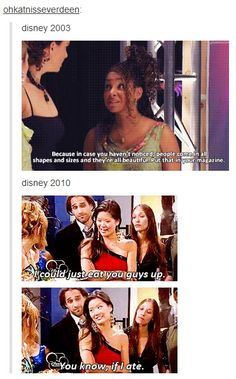 This is why we need to bring back the classics, shows like That's So Raven. Reruns would be SO much better than what is on now.