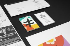 Stationery with bright illustrative detail for Freies Theater Hannover by Bureau Hardy Seiler.