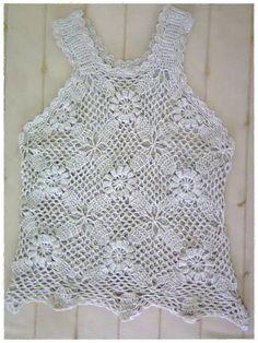 Blusa bege em crochê | Kleitz Nascimento Carvalho | Elo7