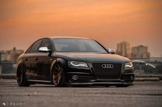 The cleanliness of Ben's Slammed Audi & its stunning looks just go to show how breathtaking you can make even a 'plain' car to make it stand out. Audi A4 B8 Tuning, Tt Tuning, Audi A5, Sedan Audi, Carros Audi, A3 8p, Sports Sedan, Performance Cars, Modified Cars