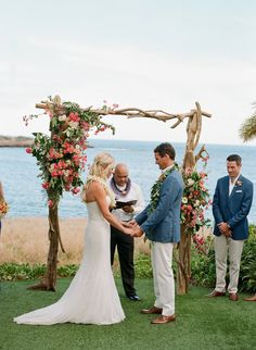 Tropical Destination Wedding in Lana'i