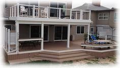 Walkout deck
