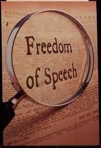 """Finally feel that my """"Freedom of Speech"""" is restored.  Been dealing with others who feel their """"rights"""" and their """"freedom of speech"""" trump mine.  Enough!"""