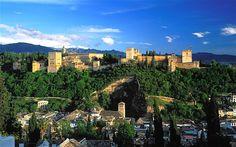 Granada city and the Alhambra - Andalucia