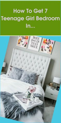 It can be difficult to find embellishing recommendations when it comes to teenage girl bed room concepts for little spaces. I indicate, just how can a... Bedroom Bed, Dream Bedroom, Bed Room, Girls Bedroom, Bedroom Decor, Teen Bedding Sets, Teen Girl Bedding, Teenage Girl Bedrooms, Table Accessories