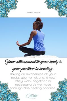 Your attunement to your body is your partner in healing. Body awareness is pivotal to healing your mother wound because the emotions connected to your mother would sit in your body Holistic Care, Holistic Healing, Psychic Development, Personal Development, Mental Health Conditions, Soul Healing, Anxiety Tips, Spiritual Awareness, Mindful Living