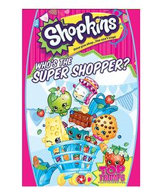 Loving this Shopkins™ 'Who's the Super Shopper?' Card Game on #zulily! #zulilyfinds