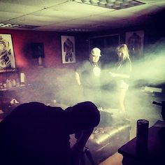 On set with @Tommy_Tattz for the Grindin' #MusicVideo dropping soon