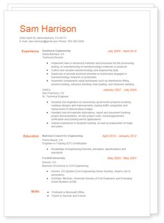 Neat Google Docs Resume Template  Resume Templates And Samples