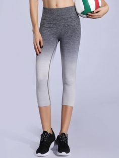 SHARE & Get it FREE   Ombre Color Capri LeggingsFor Fashion Lovers only:80,000+ Items • New Arrivals Daily Join Zaful: Get YOUR $50 NOW!