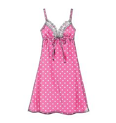 Cute nightie sewing pattern