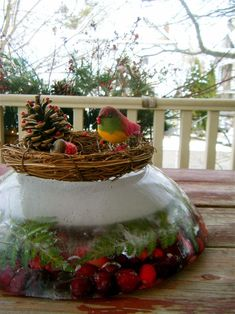 ice wreaths..... best idea everr